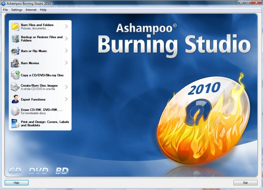 Ashampoo Burning Studio 2009